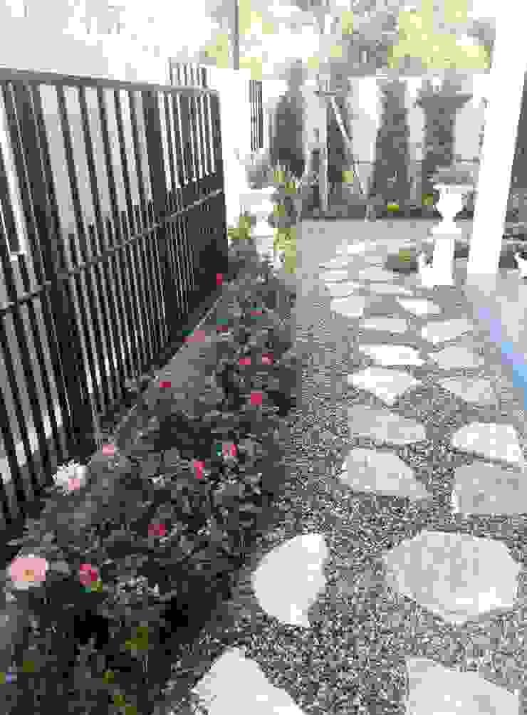 Rustic style garden by Dear_landscape Rustic OSB