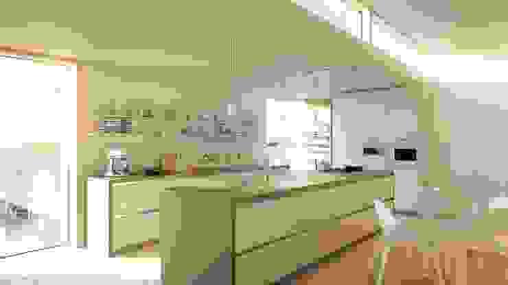 Störmer Range Minimalist kitchen by Hehku Minimalist