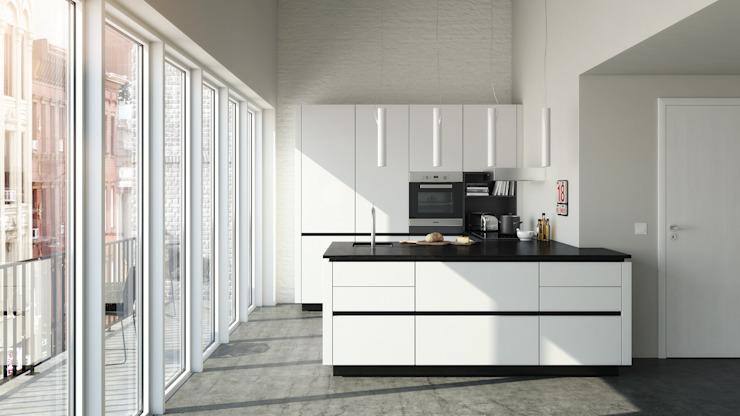 Kitchen by Hehku, Minimalist
