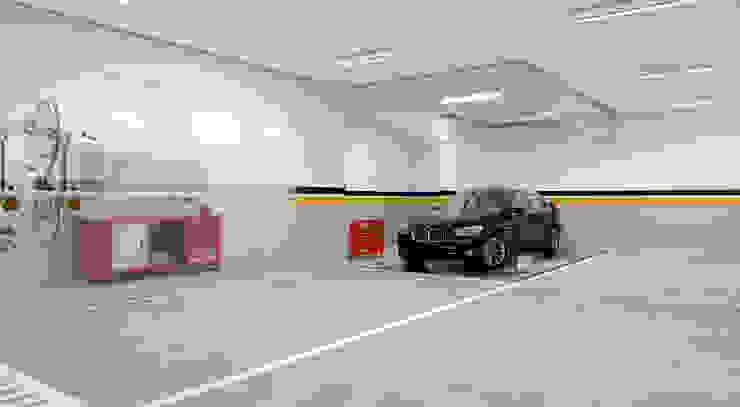 Moderne Garagen & Schuppen von Studio Arquie Modern