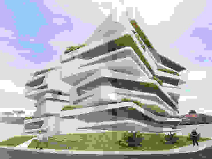 Modern houses by Arquie - Arquitetura Eficiente Modern Aluminium/Zinc