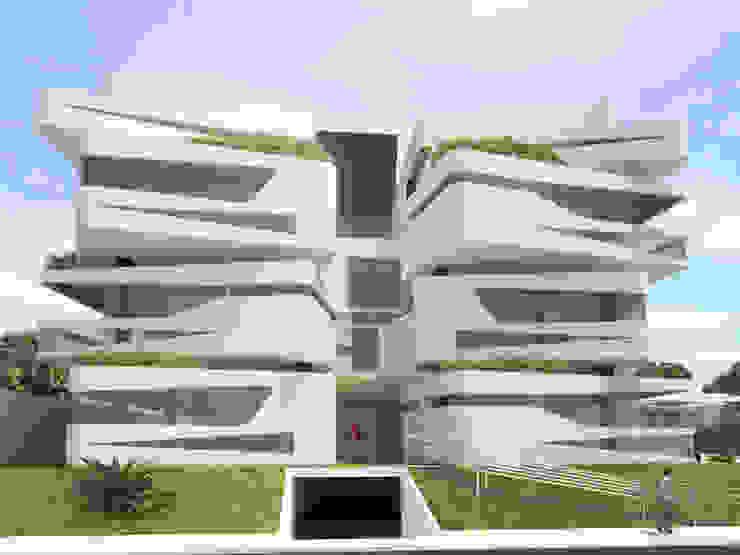 Moderne Häuser von Studio Arquie Modern Aluminium/Zink