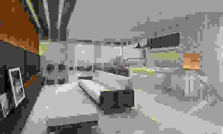 Modern dining room by Arquie - Arquitetura Eficiente Modern