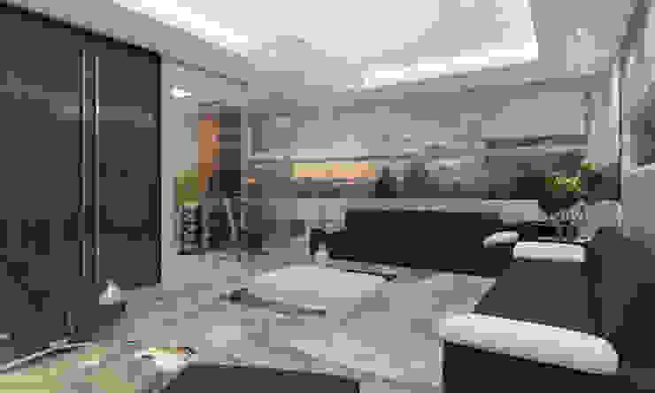 Moderner Fitnessraum von Studio Arquie Modern