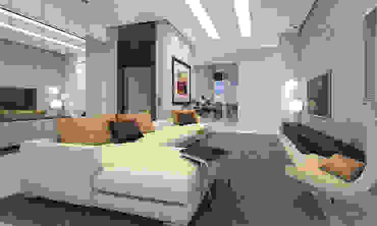 Moderne Wohnzimmer von Studio Arquie Modern