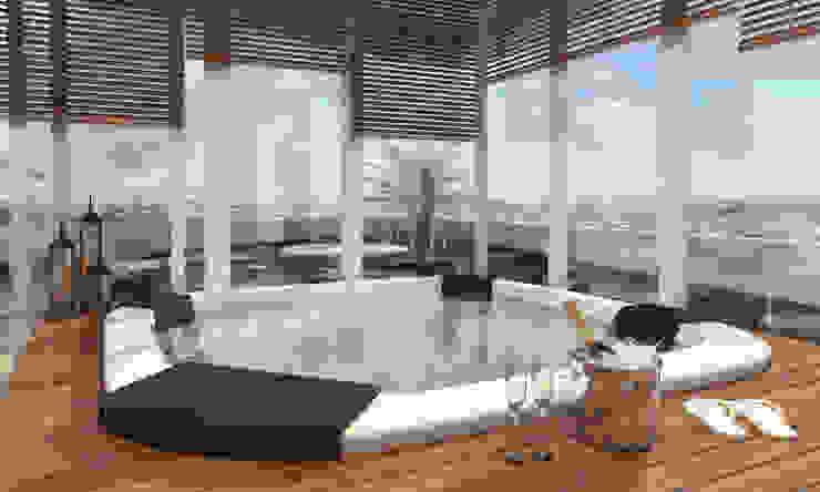 Moderne Pools von Studio Arquie Modern