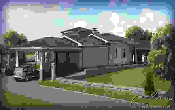 Компания архитекторов Латышевых 'Мечты сбываются' Colonial style houses