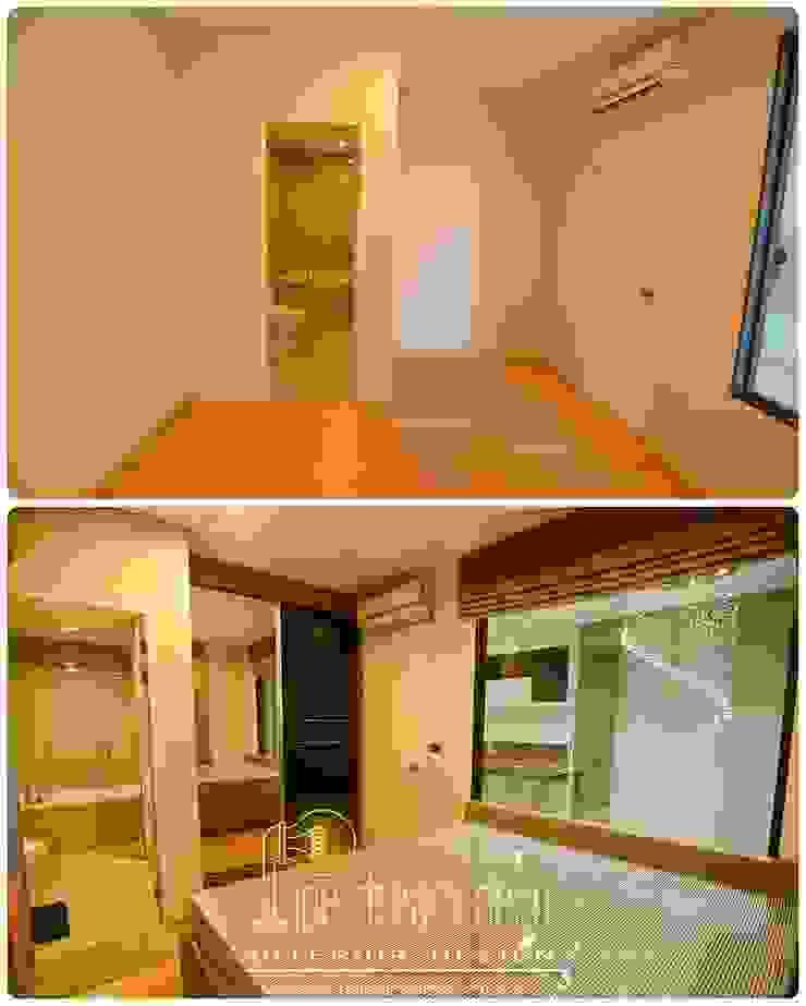 Interior construction Project – Villa Asoke Condominium โดย pipedreamdeco
