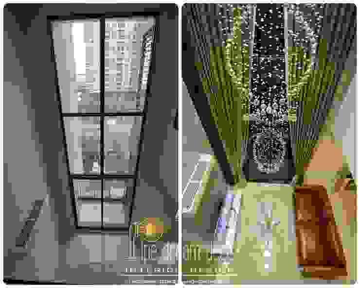 Interior construction Project - Villa Asoke Condominium โดย pipedreamdeco