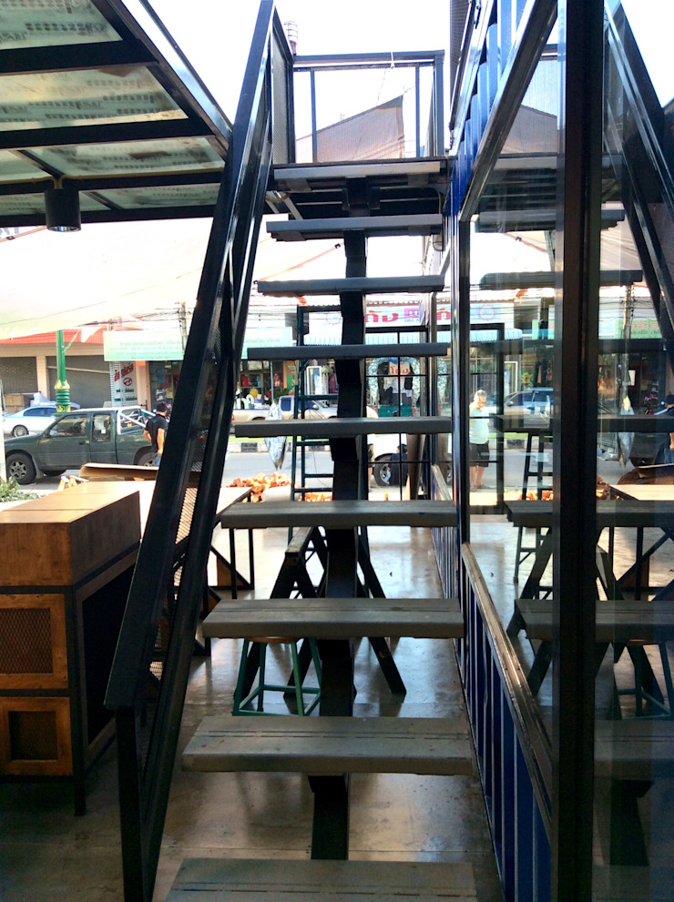 ร้านอาหาร Hiroki โดย ชัยภูมิบ้านตู้คอนเทนเนอร์