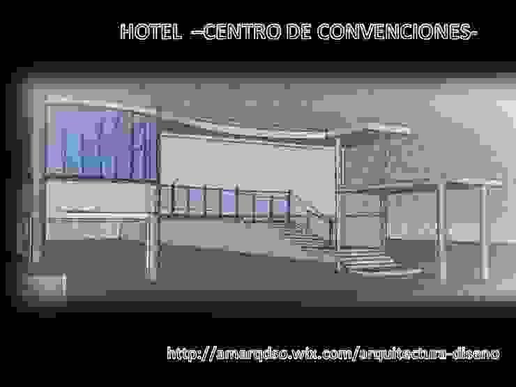CENTRO DE CONVENCIONES de A.M. ARQUITECTURA +DISEÑO