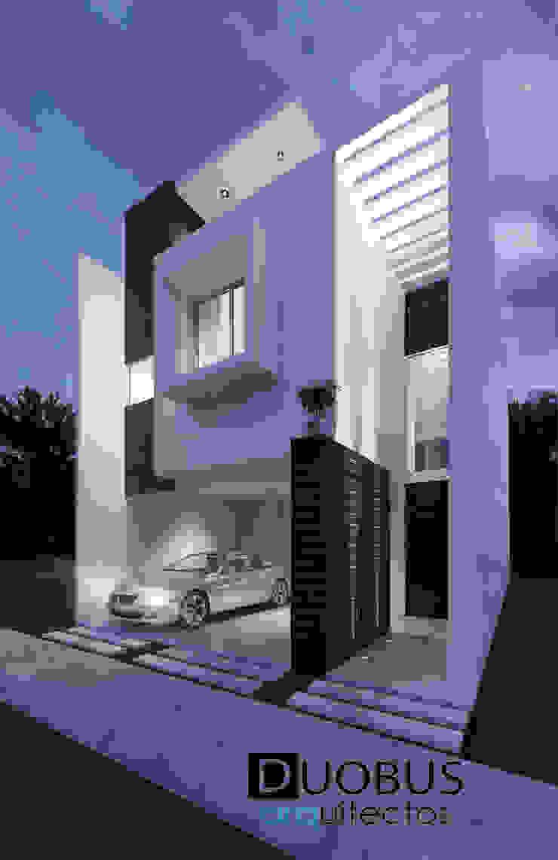 casa 2 G.M.M. Fracc. Arboreto. Casas modernas de DUOBUS M + L arquitectos Moderno