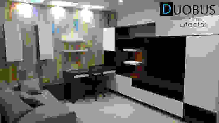 sala tv. Salones modernos de DUOBUS M + L arquitectos Moderno