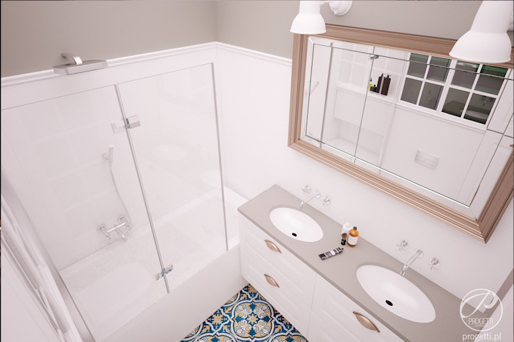 Modern bathroom by Progetti Architektura Modern