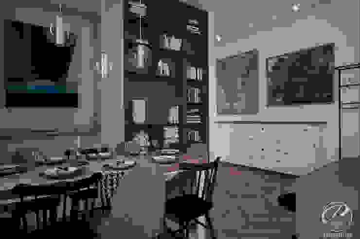 Modern dining room by Progetti Architektura Modern