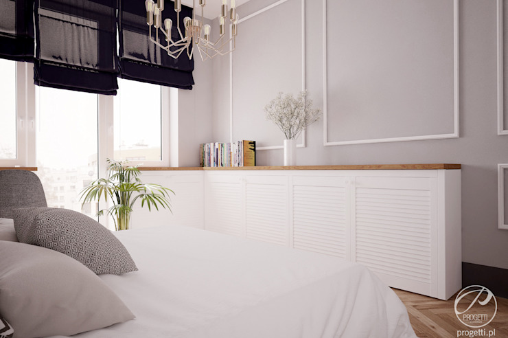 Modern style bedroom by Progetti Architektura Modern