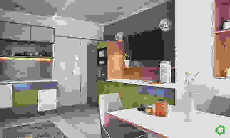 Salas / recibidores de estilo  por Polygon arch&des, Minimalista