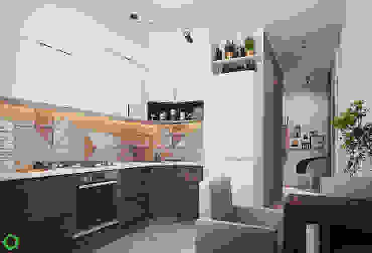 Kitchen by Polygon arch&des Scandinavian