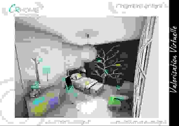 Chambre d'enfant Chambre d'enfant moderne par Crhome Design Moderne