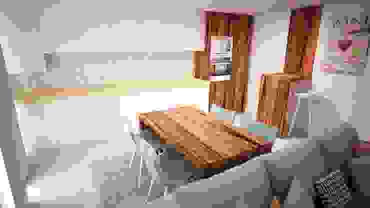 "Design de Interiores - SALA ""NORDIC, ROMANTIC AND ECLECTIC"" por Andreia Louraço - Designer de Interiores (Contacto: atelier.andreialouraco@gmail.com) Eclético"