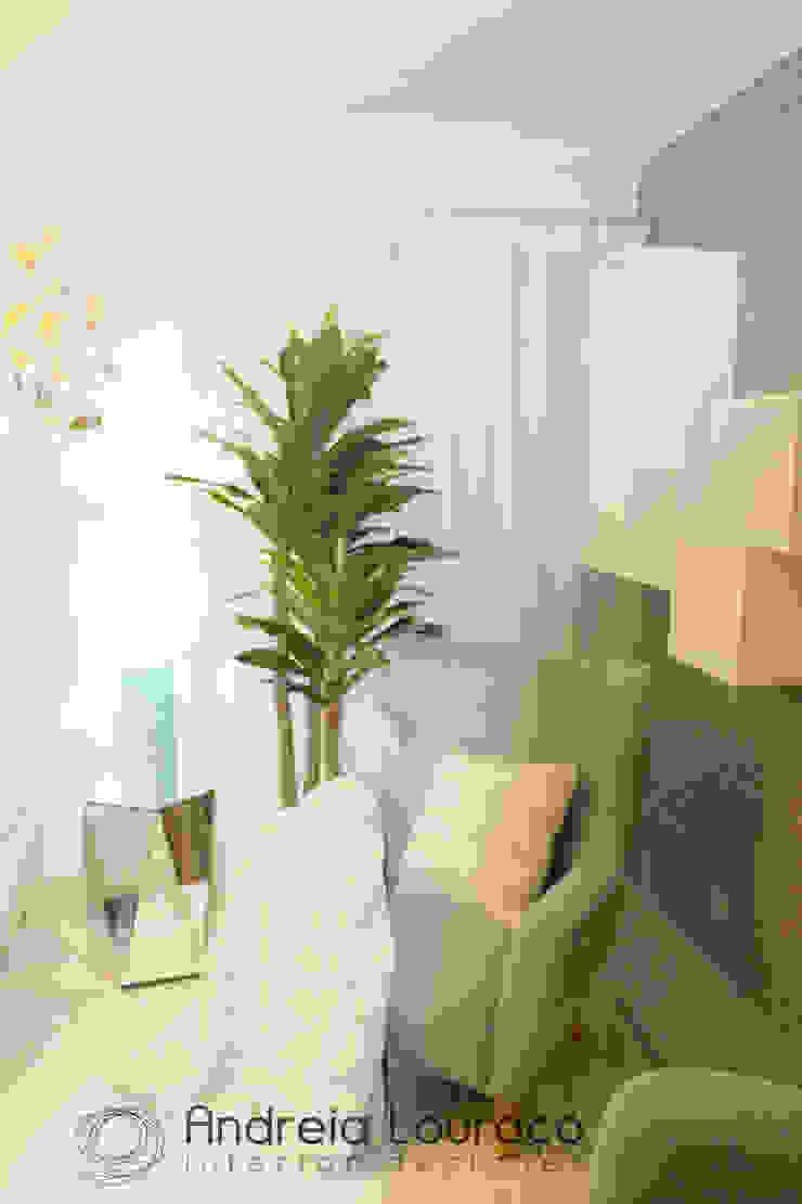 "Design de Interiores - SALA ""Eclectic touch"" por Andreia Louraço - Designer de Interiores (Contacto: atelier.andreialouraco@gmail.com) Eclético"