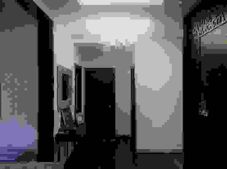 INTERIOR ARCHITECTURE—03 Modern corridor, hallway & stairs by Urban Shaastra Modern