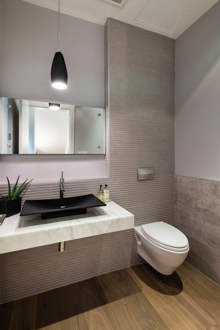 Moderne Badezimmer von Alice D'Andrea Design Modern