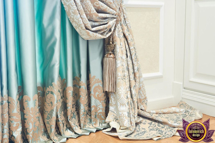 Curtains design of Katrina Antonovich  : classic  by Luxury Antonovich Design, Classic