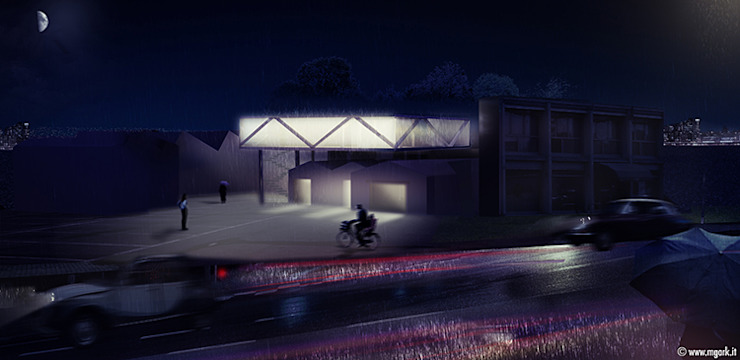 Casas estilo moderno: ideas, arquitectura e imágenes de michele gambato architetto, mgark Moderno