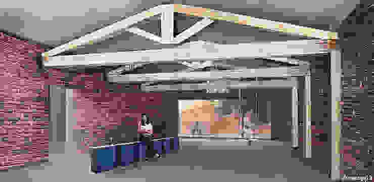Salas multimedia de estilo moderno de michele gambato architetto, mgark Moderno