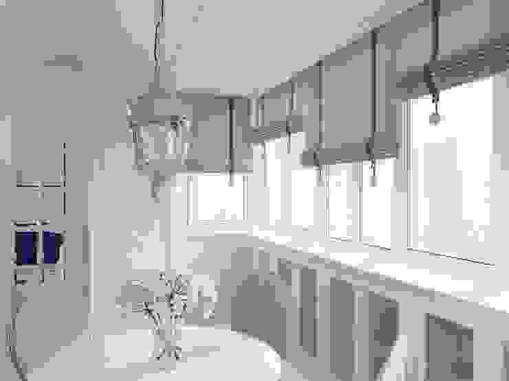 Eklektik Balkon, Veranda & Teras Dots&points interior design studio Eklektik