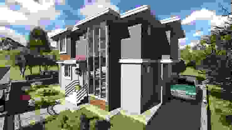 Gülşen ÇİFTÇİ Modern Evler alfa mimarlık Modern Ahşap-Plastik Kompozit