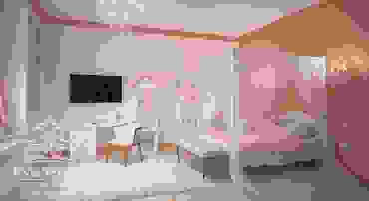 Спальня для девочки: Детские комнаты в . Автор – мастерская интерьера РУБЛЕВКА / workshop interior RUBLEVKA ,