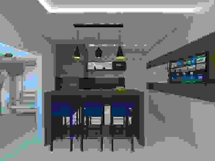 Karoline Gesser Leal Interiores 现代客厅設計點子、靈感 & 圖片