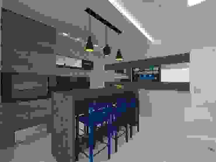 Comedores de estilo moderno de Karoline Gesser Leal Interiores Moderno