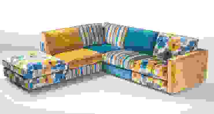 Sofás de canto Corner sofas www.intense-mobiliario.com NOTSUOH por Intense mobiliário e interiores; Moderno