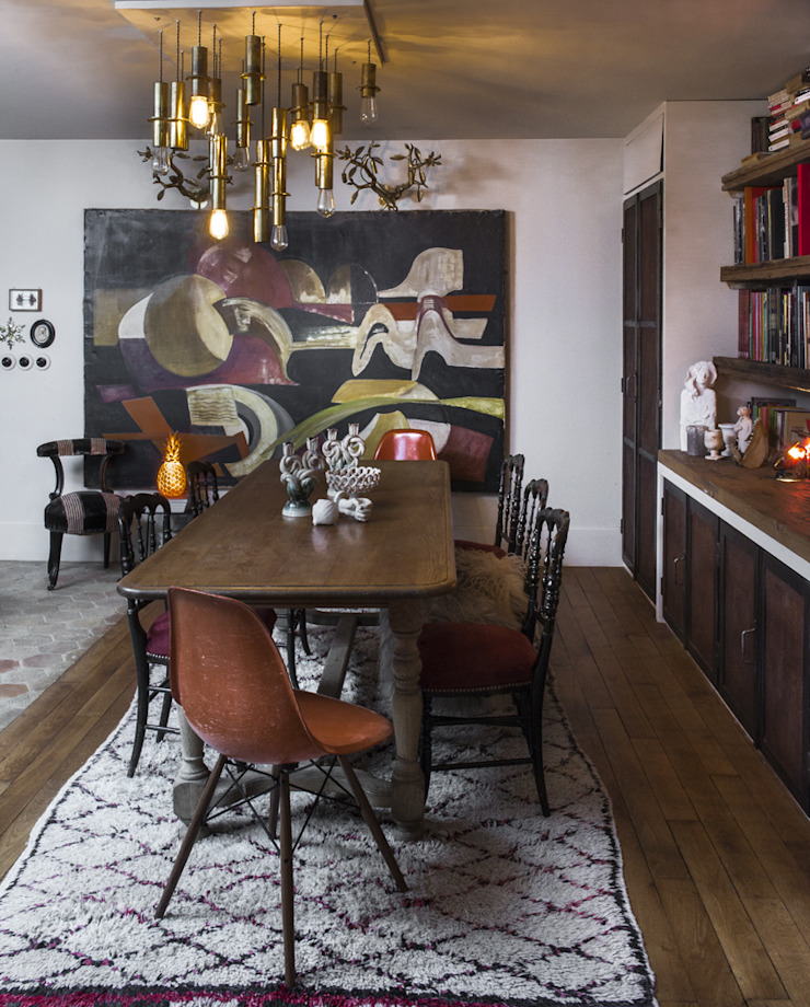 dmesure Industrial style dining room