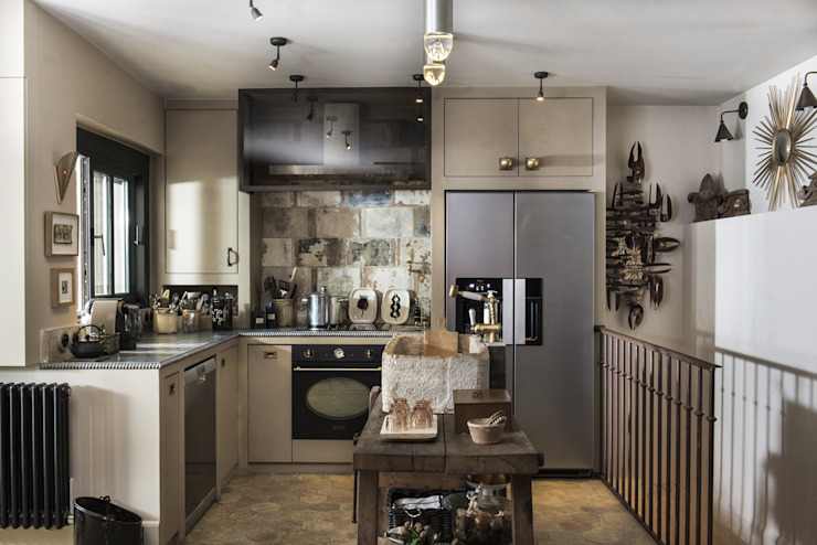 dmesure Industrial style kitchen
