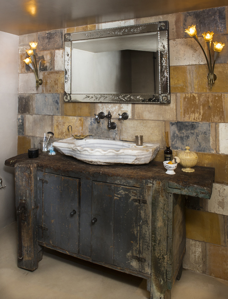 dmesure Industrial style bathrooms