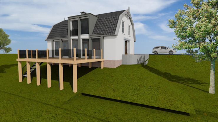 Verbouwing dijkwoning te Maurik van Loosbroek architecten bv