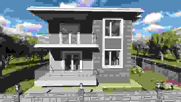 Дома в стиле модерн от alfa mimarlık Модерн