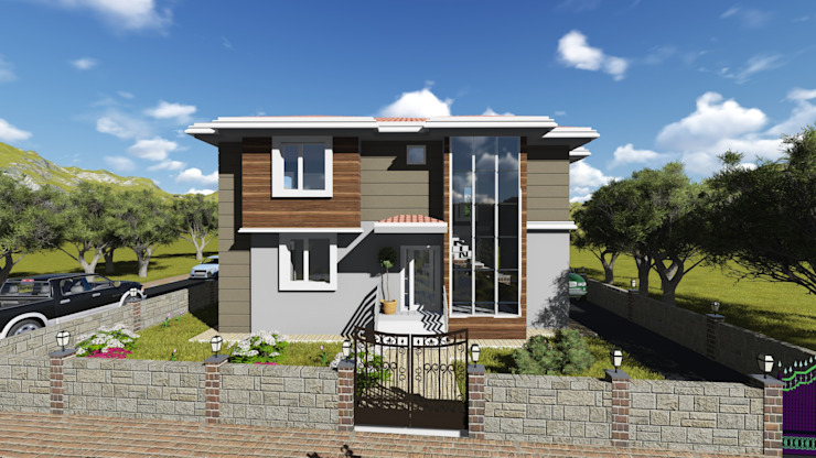 Houses by alfa mimarlık