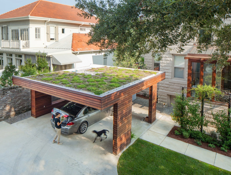City Park Carport, New Orleans by studioWTA Modern