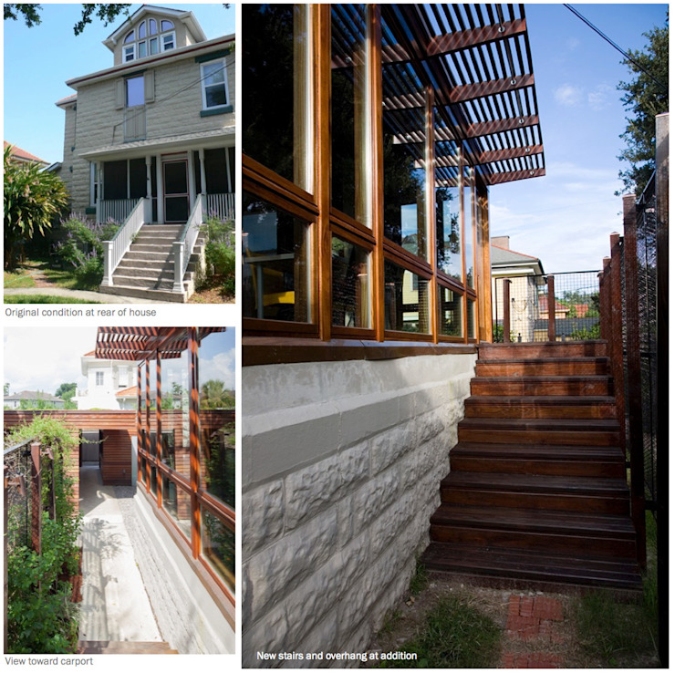 City Park Residence, New Orleans Modern Houses by studioWTA Modern