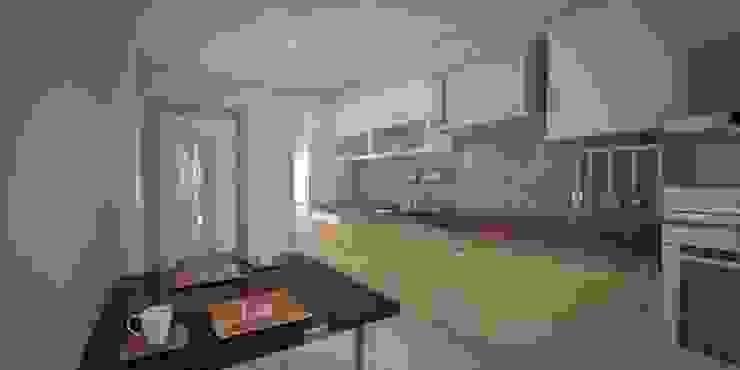 Modern style kitchen by Minel Mimarlık Yapı Mühendislik İnşaat Sanayi Ticaret Limited Şirketi Modern
