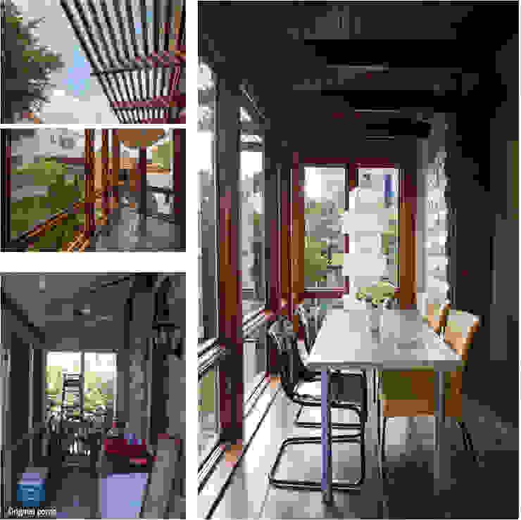 City Park Residence + Carport, New Orleans Modern Living Room by studioWTA Modern