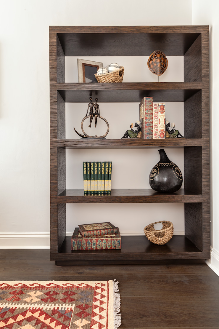 Study Shelves The White House Interiors Eclectic style study/office