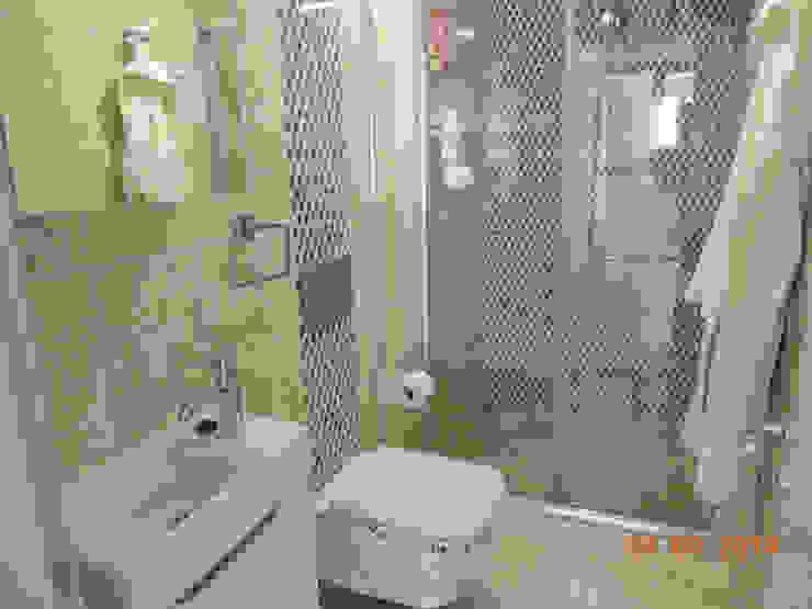 Modern bathroom by Minel Mimarlık Yapı Mühendislik İnşaat Sanayi Ticaret Limited Şirketi Modern