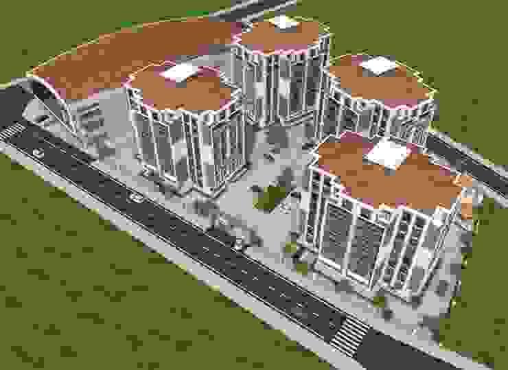 Modern houses by Minel Mimarlık Yapı Mühendislik İnşaat Sanayi Ticaret Limited Şirketi Modern