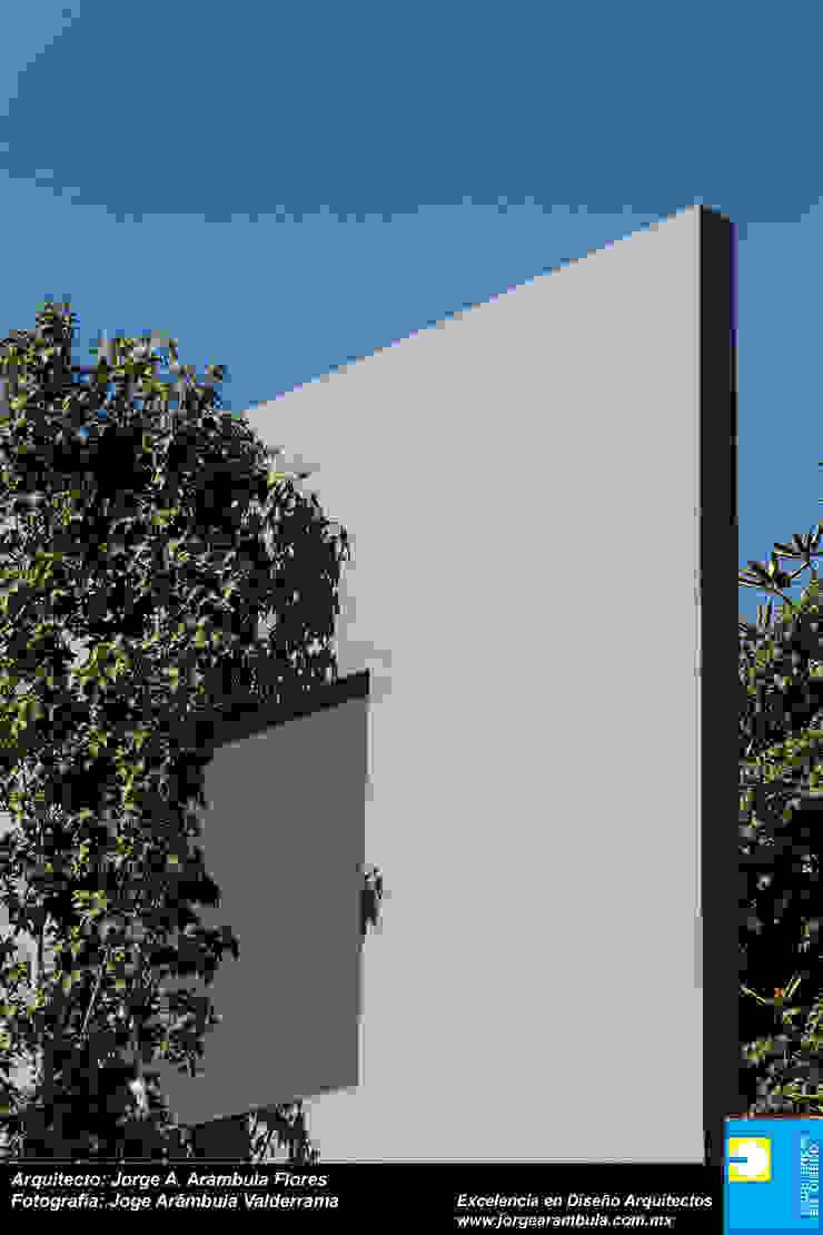 ELEMENTO DE INGRESO Casas modernas de Excelencia en Diseño Moderno Ladrillos